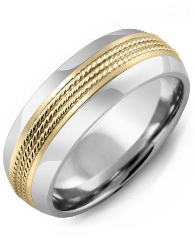Men S Women S Eternity Rope Design Wedding Ring In 2019 Luna