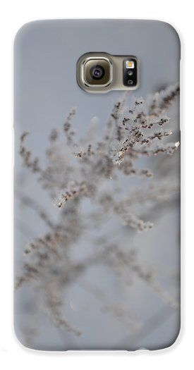 Softness of Frost Galaxy S6 Case by Randi Grace Nilsberg.  Protect your Galaxy S6 with an impact-resistant, slim-profile, hard-shell case.  The image is printed directly onto the case and wrapped around the edges for a beautiful presentation.  Simply snap the case onto your Galaxy S6 for instant protection and direct access to all of the phones features!
