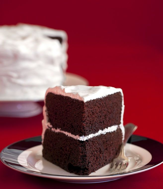Red Velvet Cake with Boiled Icing - A Traditional Take on this cake - Alyssa - you would LOVE this!