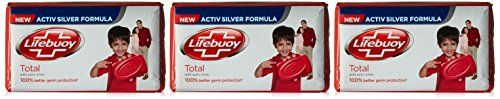 #8: Lifebuoy Total 10 Soap Bar 3x100g