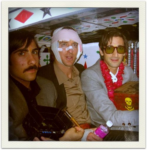 Behind the scenes darjeeling limited