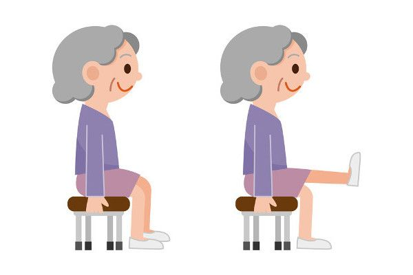 These safe, simple chair exercises help seniors build strength and improve circulation.