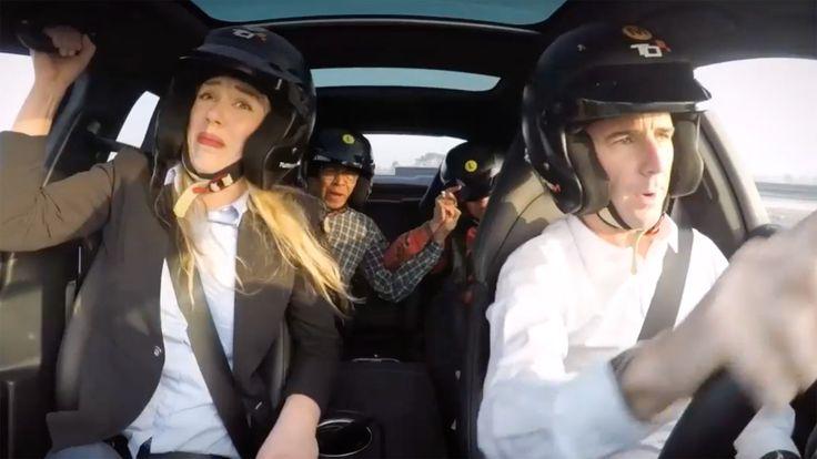Watch a Le Mans Champ Terrify Unsuspecting Passengers In a Porsche Panamera Turbo S