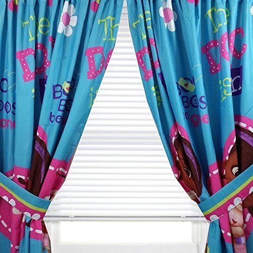Disney Doc Mcstuffins Window Panels Curtains Drapes