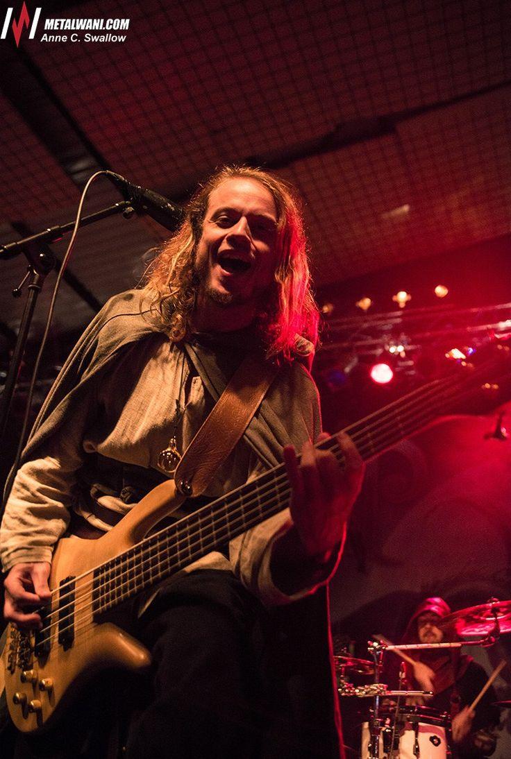 Twilight Force ⚫ Photo by Anne C. Swallow  ⚫ Stuttgart 2017 ⚫  #TwilightForce #Born #herbalist #druid #bassguitar #guitarist #larp #music #metal #concert #gig #musician #band #artist #celebrity #Sweden #Swedish #Powermetal #dragon #live #concertphotography #Nuclearblast #トワイライトフォース