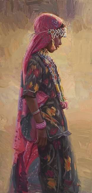 Rajasthani Lady India...