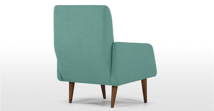 Profile Chair, Topaz Linen | made.com