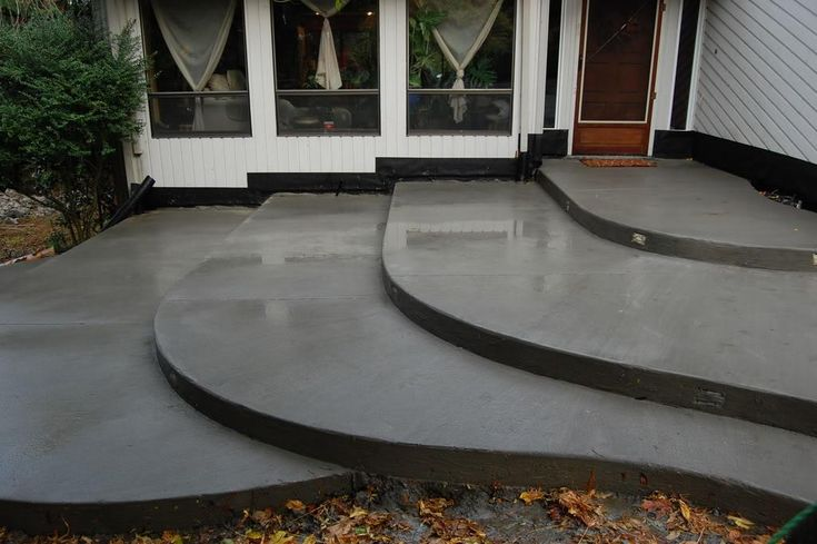 modern concrete patios | Concrete | Acid Stain Concrete Floors | Stamped Concrete Patios ...
