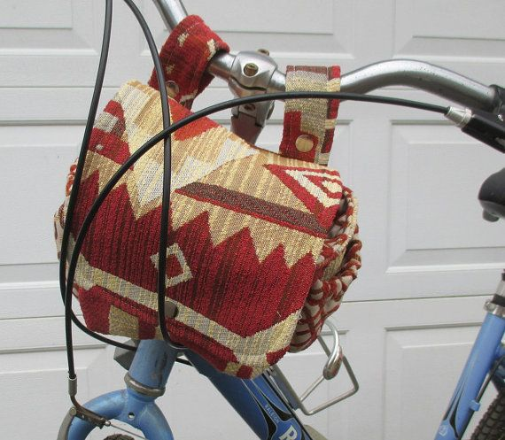Bicycle Bag  Bike Bag Converts To A Purse   by bungalowquilts