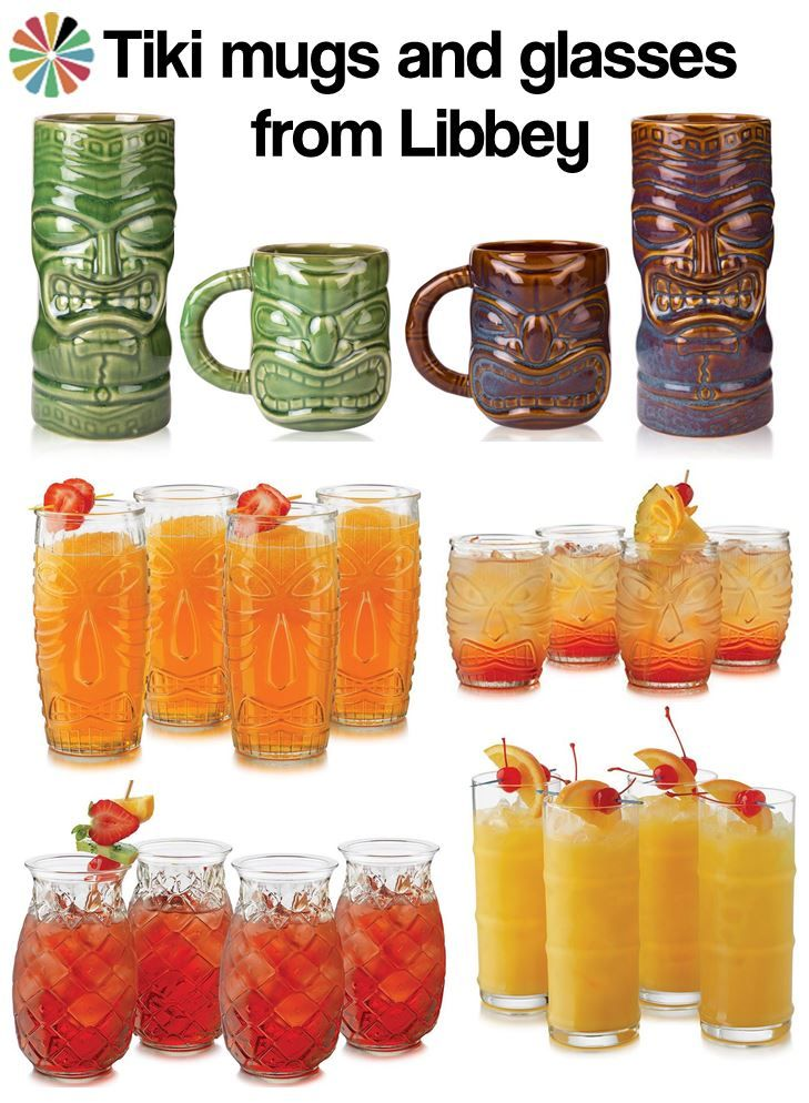 A big glassware maker — Libbey — has jumped on the tiki bandwagon and now has a pretty big line of tiki mugs and glasses for sale. These are relatively inexpensive (the glassware, especially) and could be great if you are planning a big party. Thanks to Kate — yes, Katiedoodle — who spotted these …