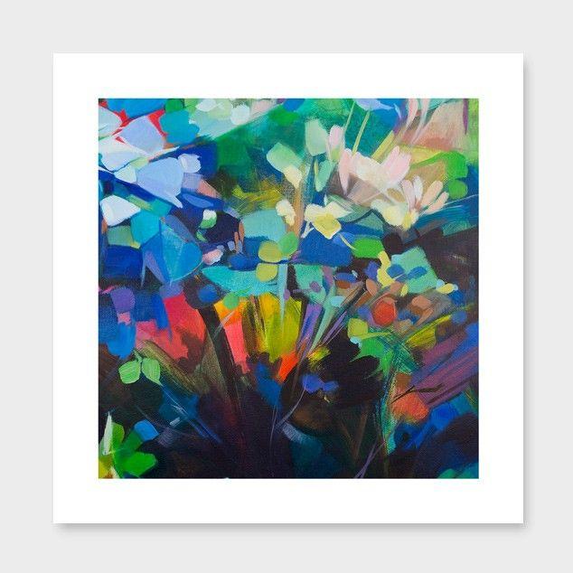 Fragmented in Napthol Art Print by Jenni Stringleman - Giclee Prints NZ Art Prints, Art Framing Design Prints, Posters & NZ Design Gifts | endemicworld