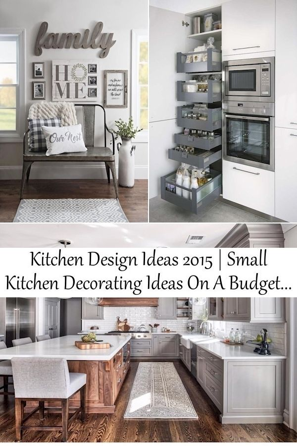 Kitchen Design Ideas 2015 Small Kitchen Decorating Ideas On A Budget Country Kitchen Decor Items Kitchen Decor Small Kitchen Decor Kitchen Decor Items