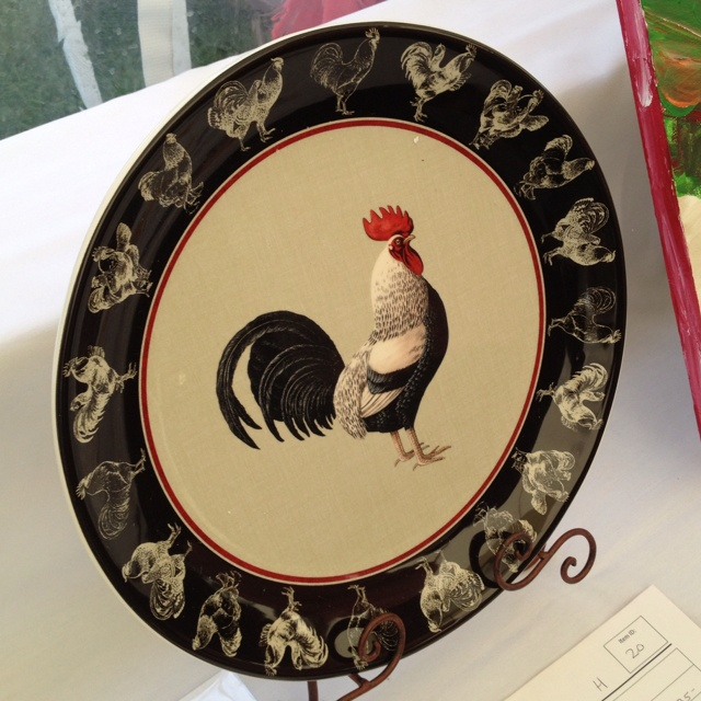 High Quality Rooster Plate