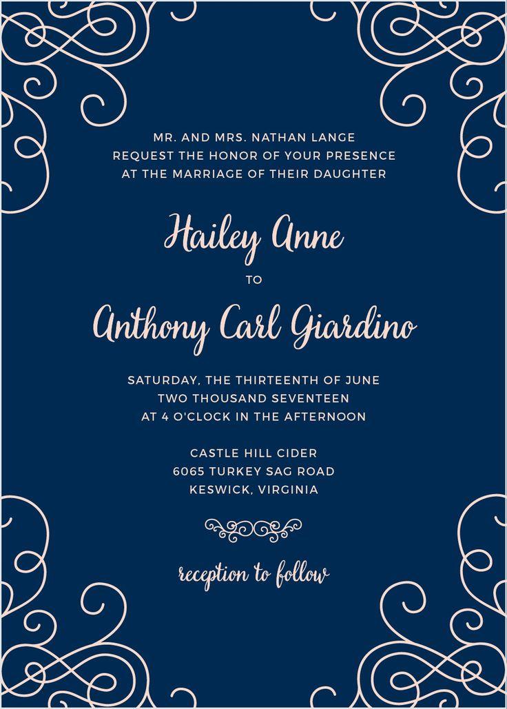Modern Love Wedding Invitations