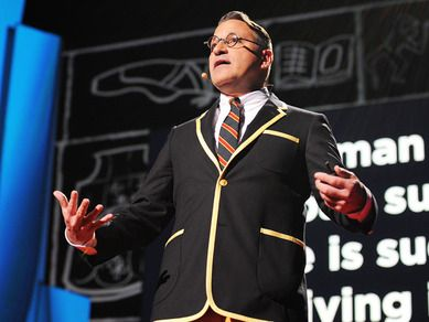 Wonderful TED Talk on book covers--Chip Kidd: Designing books is no laughing matter.   Video on TED.com