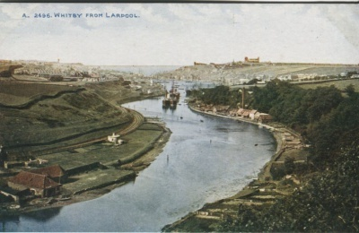 Photochrom Co Ltd  Postcard - Whitby from Larpool A2496 Celesque Series