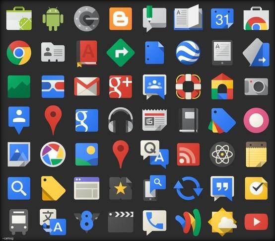Google JFK - 114 Icons http://www.iconspedia.com/pack/google-jfk-icons-4207/  Author: carlosjj.deviantart.com