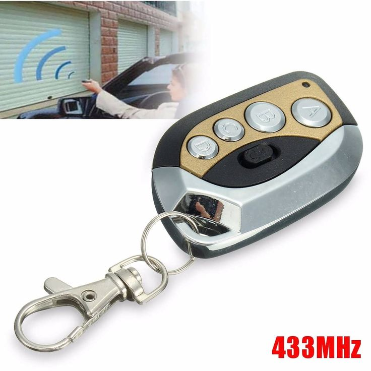 Description:  	 	GV608 433MHz Electric Cloning Universal Gate Garage Door Remote Control Key Fob  	   	It can duplicate the majority of the wireless remote control in the market, such as household burglar remote control, automobile with extra anti-theft remote control, motorcycles...