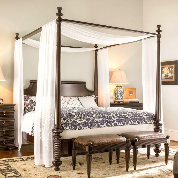 Балдахин. С наличием балдахина над кроватью возникает ощущение, что попадаешь в императорские покои. #интерьер #дизайн #шторы #пошив_штор #дизайн_штор