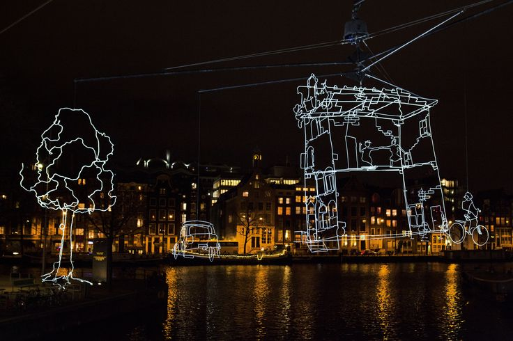 Winter 204 Amsterdam Light Festival http://amsterdamcurated.nl/amsterdam-light-festival-2014-2015/ #AmsterdamLightFestival