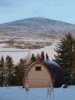 pod Drumore pod in the snow facing Mt Blair