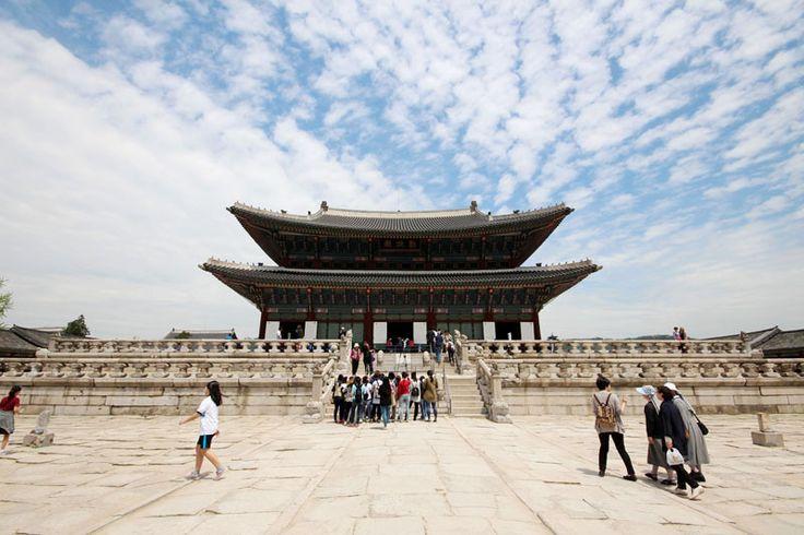 Primera parada recorriendo Seoul: Gyeongbukgung Palace