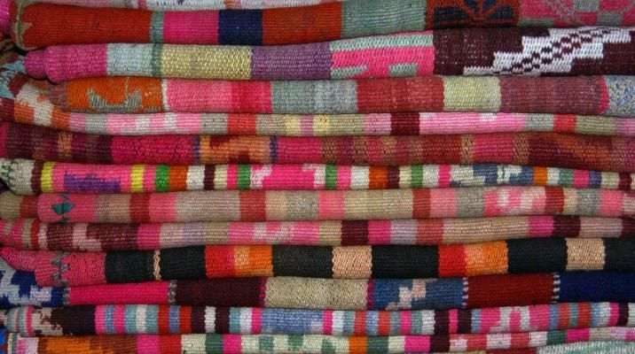 Argentinske håndlavede tekstiler