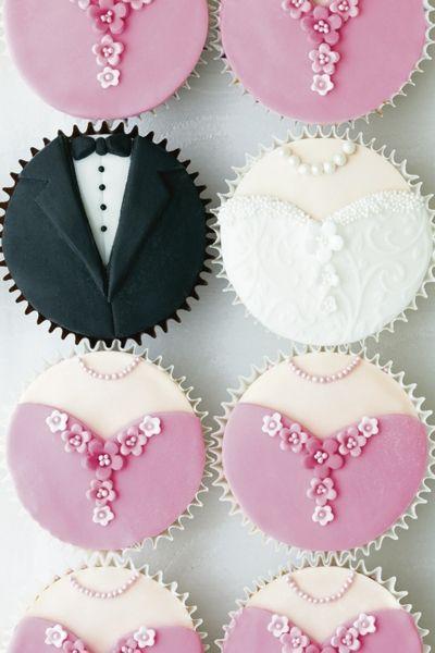 Cupcake de mariage - adorable !