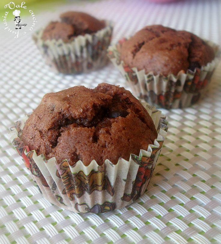 Mini muffin al cioccolato e caffè,ricetta dolce