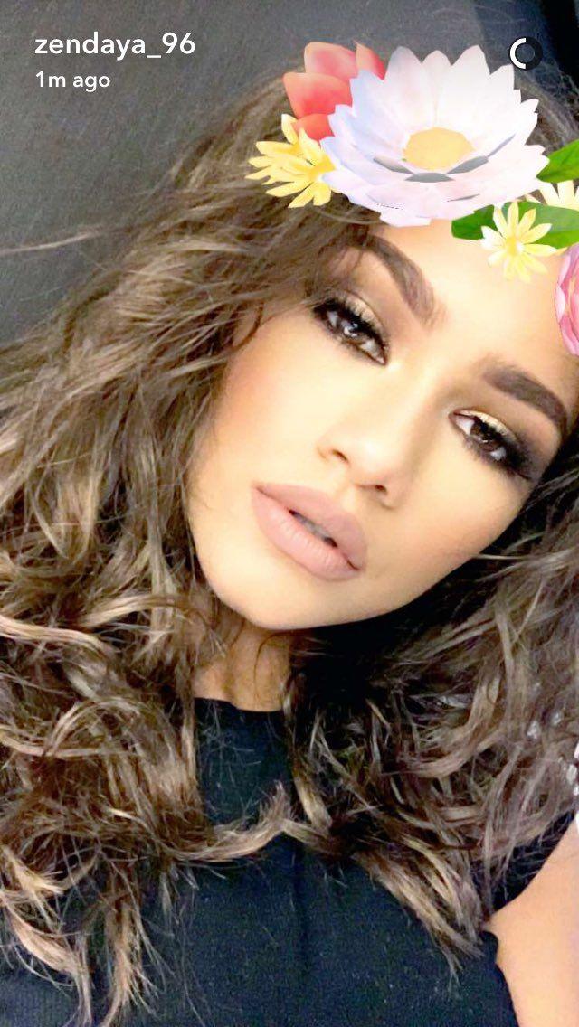 Zendaya on snapchat 7/11/16                                                                                                                                                                                 More