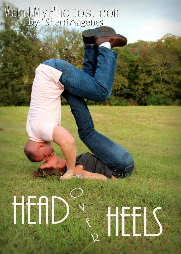 Head over Heels! Great for a 1st anniversary.