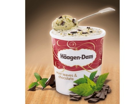 Haagen Dazs After Eight :D