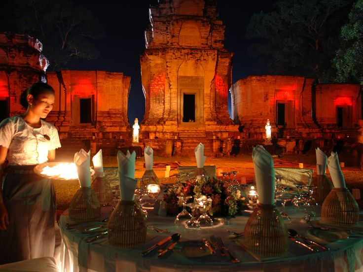 siem reap tempel-dinner