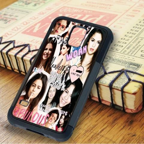 Selena Gomez Collage Idol Star Samsung Galaxy S5 Case
