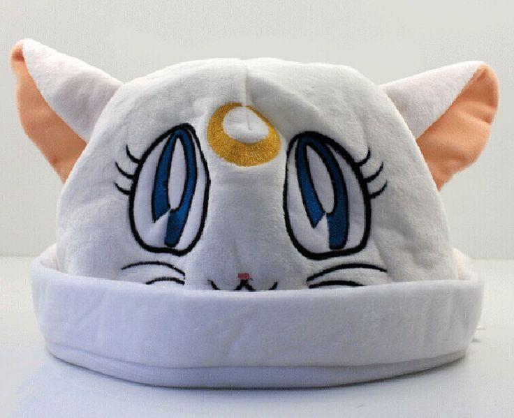 Сейлор луна артемида Cat косплей шапочка шляпа сейлор луна комикс плюш шляпа 20 * 30 см 1 шт.