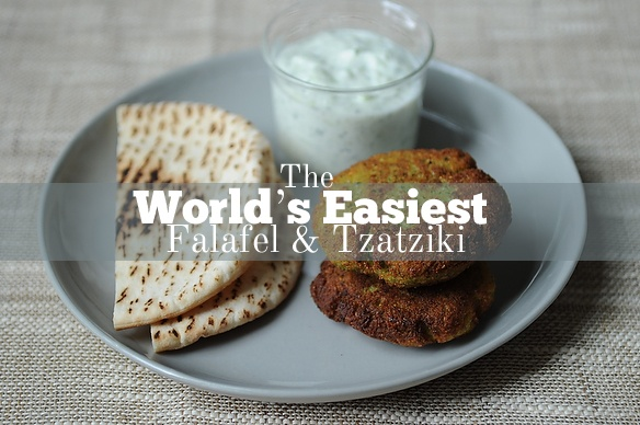 World's Easiest Falafel and Tzatziki: - 2 C dried chickpeas, rinsed ...
