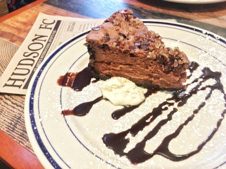 Turtle cheesecake - Hudson FC Atlanta - International Sports Pub
