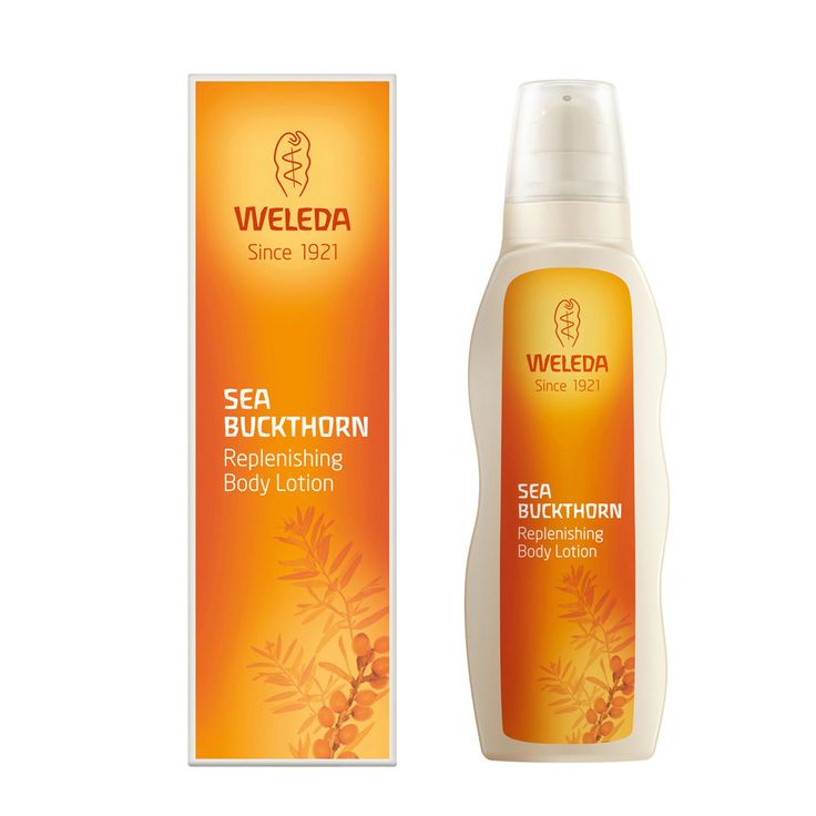 Ooh my favourite body lotion just went on sale! Weleda Sea Buckthorn Body Lotion - smells like orange sherbet and is incredible on dry skin!