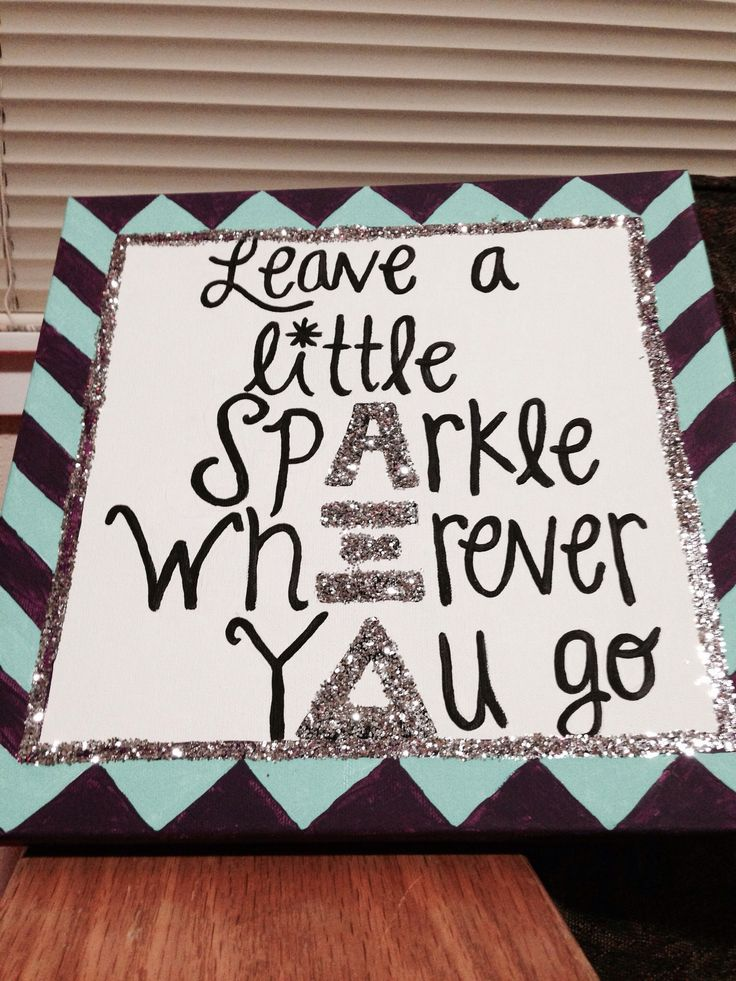Big little crafts throw what ya know for Sorority crafts for little