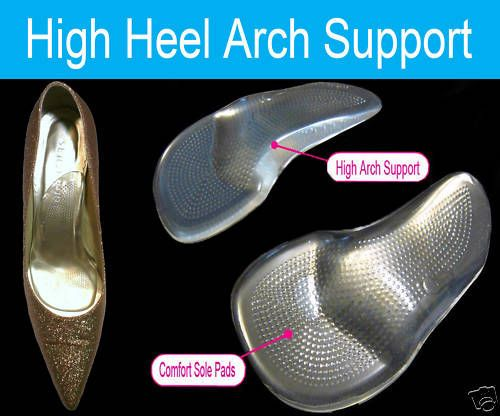 High Heels Arch Support Shoe Inserts Insoles Party Feet | eBay