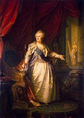 Portrait of Catherine II  Johann Baptist Lampi the Elder.  The Hermitage.: 16Th Century, Portraits 18Th, 1793 Lampi, Beaux Art, Johannbaptist Lampi, Catherine The Great, Catherine Ii, Catherine Zeta-Jon, Empress Catherine