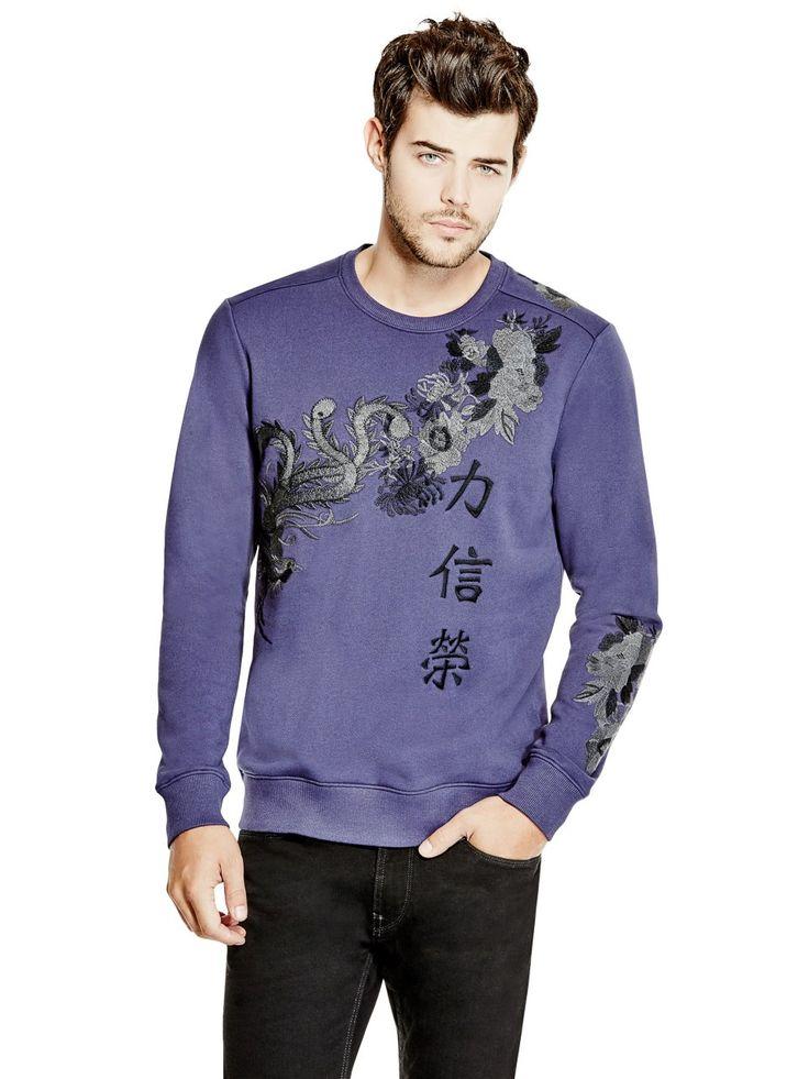 Roy Embroidered Sweatshirt