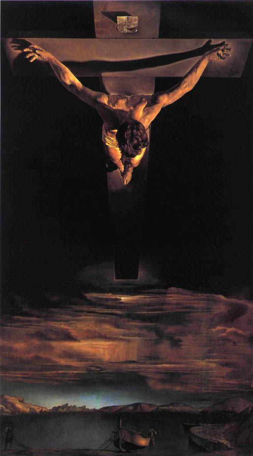 Salvador Dalí - Christ of Saint John of the Cross - 1951