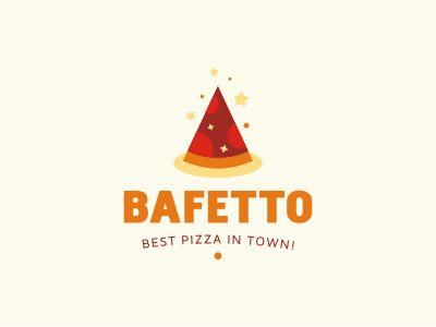 Bafetto Pizza logo. Magic sparkles :).