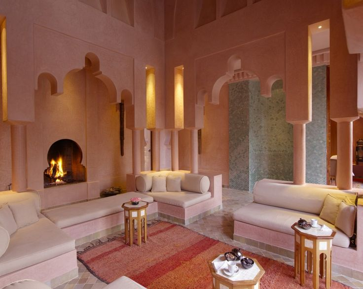 Inspiring Moroccan Living Room Designs Catching Light Pink Jena Maison Style Design