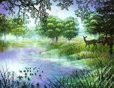 """""""Morning Mist"""" by Kevin Nakagawa, 2002"""