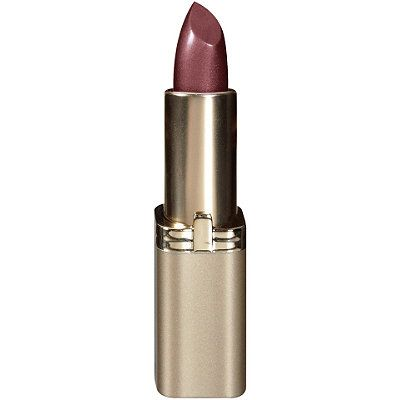 The first choice in luxury lipcolor, L'Oréal Colour Riche Lipcolour in Golden Grape by L'Oréal is deep, luminous color in a weightless, creamy texture. Dewy, botanical formulations moisturize, condition, and last for hours without flaking or splitting.