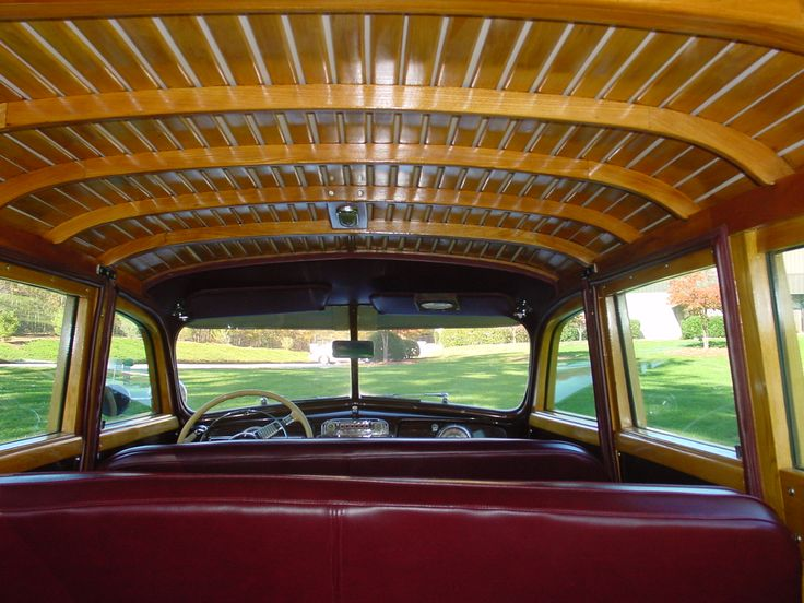 1948 Silver Streak 8 Woody Station Wagon - Interior | Pre-SUV,Pre-Minivan,There Were Wagons ...