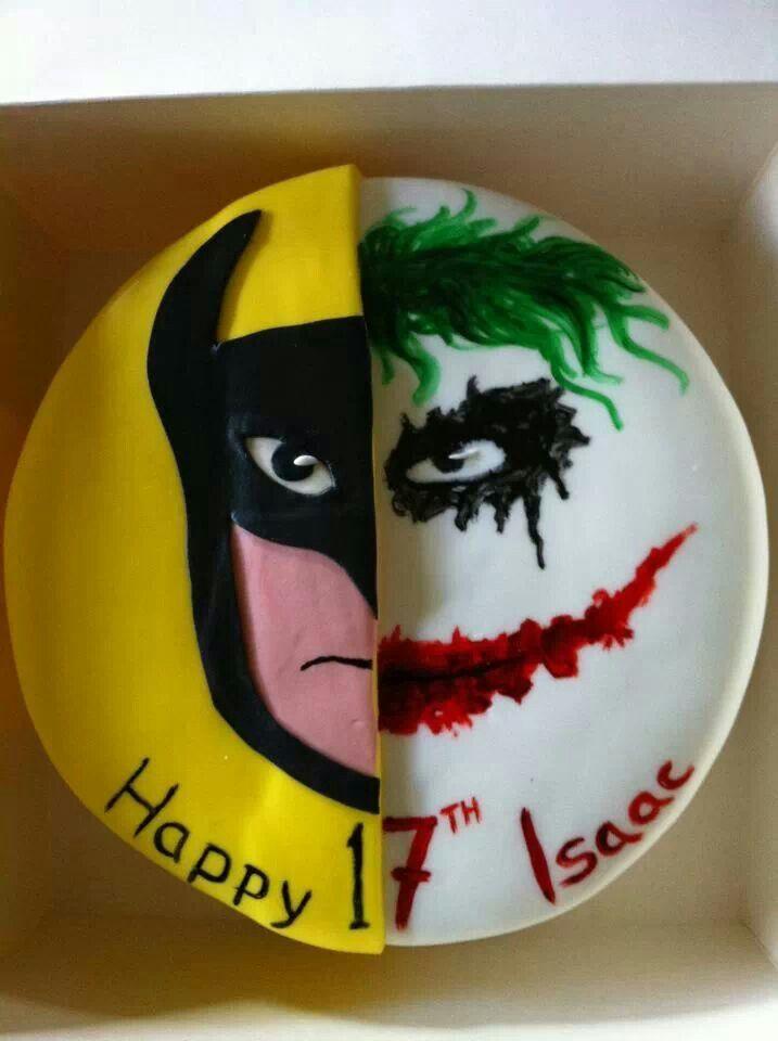 Batman And Joker Cake Topper