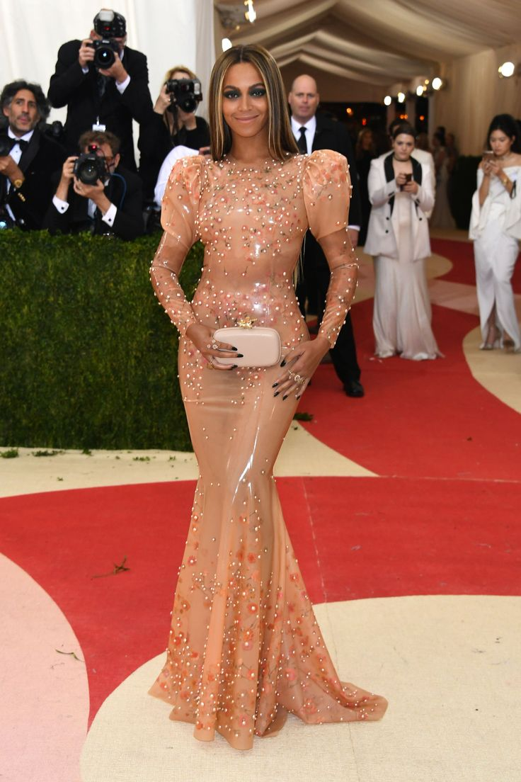 If you're Beyoncé, you don't think twice about wearing a latex Givenchy gown to the 2016 Met Gala because you know you're going to look amazing in it. (And she did.)